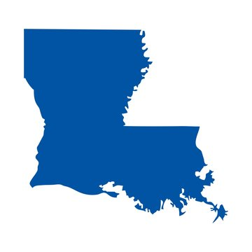 louisiana logo vector.