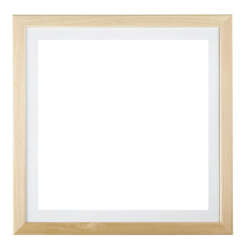 Square frame isolated