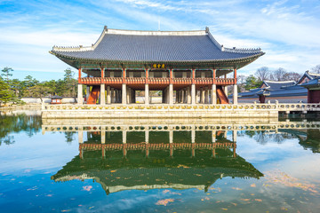 Gyeongbokgung palace landmark of Seoul
