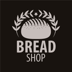 Bakery logotype. Bakery or bred shop vintage design element.