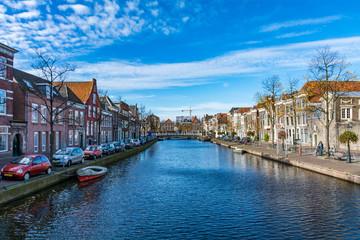 オランダ・ライデンの街並み