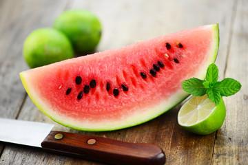 Messer Wassermelone