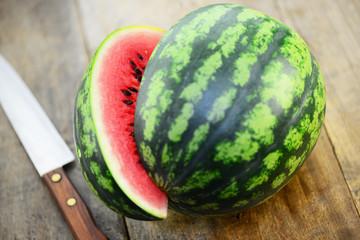 Wassermelone Messer