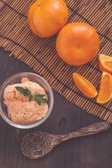 Orange icecream