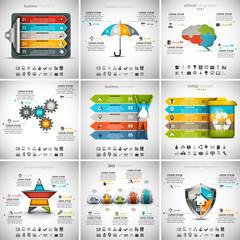 9 in 1 Infographics Bundle