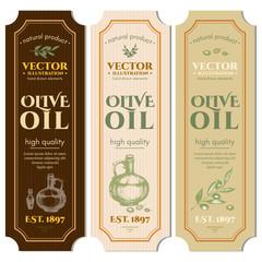 Labels olive oil package design