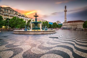 Fotomurales - Lisbon, Portugal City Square