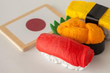 Japanese food image (Sushi)