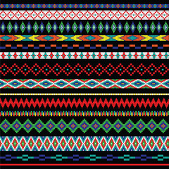 primitive bead borders