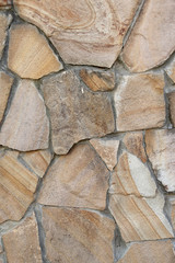 Stone Material, Textured, Wall