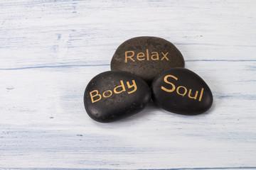 hot stone relex body soul lava stone weisser tisch