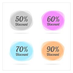 sale banner template  vector design.