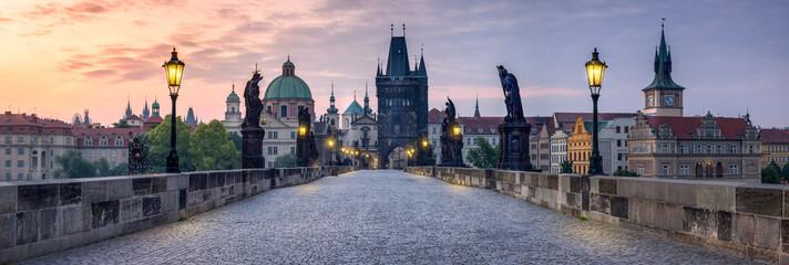 Foto auf Acrylglas Prag Karlsbrücke in Prag Tschechien