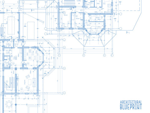 Architectural drawings on light background.