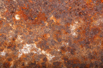 rusty sheet metal. macro background