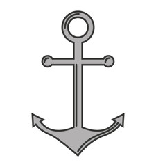 anchor marine symbol icon