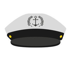 captain sailor anchor hat