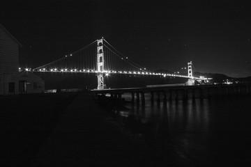 Golden Gate Bridge Over The Mist