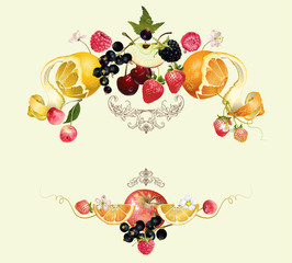 Fruit and berry composition