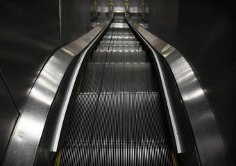 Symmetrical Old Escalator