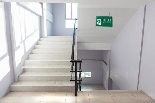stairwell fire escape