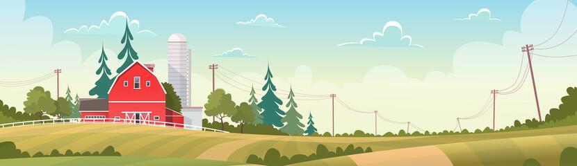 Agriculture And Farming, Farmland Countryside Landscape