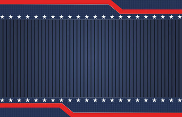 American blue patriotic background