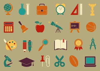 Symbols of school and education