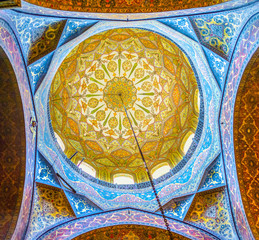 The cupola of Etchmiadzin Cathedral