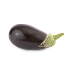 Black Eggplant isolated
