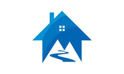 house mountain logo