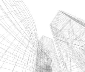 architecture 3d sketch