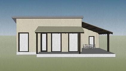 architecture concept sketch