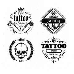 Tattoo badges