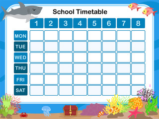 Timetable - schedule for student