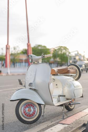 vintage vespa scooter motorcycle