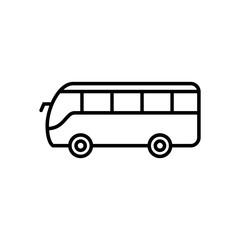 Bus line icon