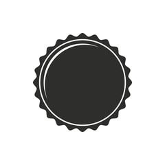 Bottle cap - vector icon.