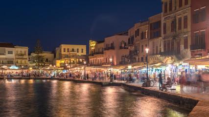 Chania, Crete, Greece: Venetian harbor