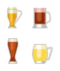 Beer vector cup