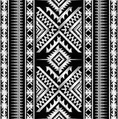Doodle Tribal Aztec Seamless Pattern. Tribal Geometric Vector il