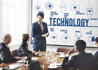 Technology Futuristic Innovation Invention Connection Concept