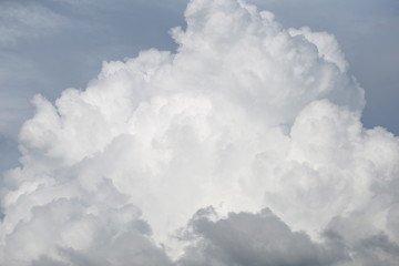 Cloudscape with Sky and Clouds Background