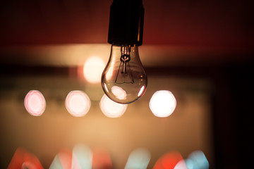 bulb on a beautiful background