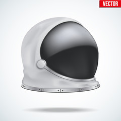 Astronaut helmet with reflection glass