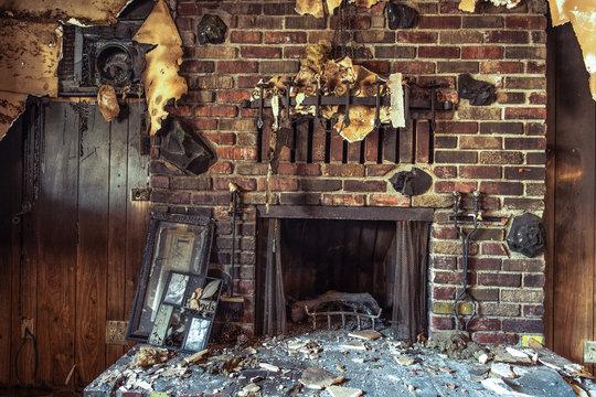 Fire Damaged Furniture