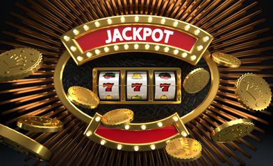 JACKPOT - Slot machine - Machine à sou