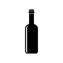Bottle of wine icon - Vector