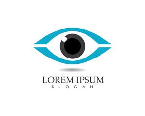 Eyes care logo