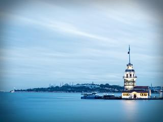 Maiden's Tower on bosphorus, Kiz Kulesi.
